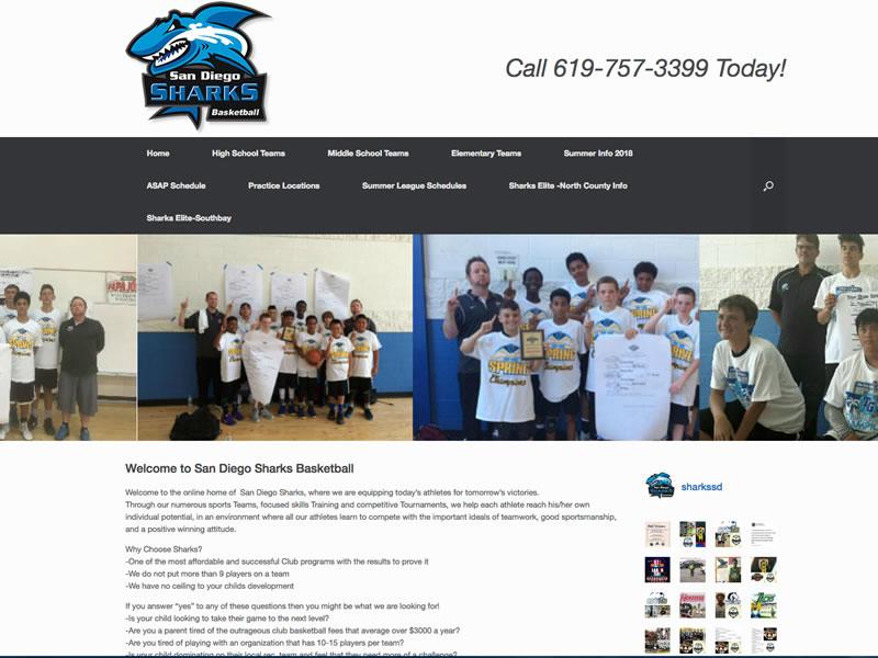 San Diego Sharks Basketball